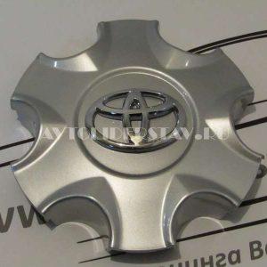 Колпачок для диска Toyota (135) 6 лучей TY-С241 серебро/хром