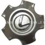 Колпачок для диска Lexus (140) 5 лучей серебро/хром