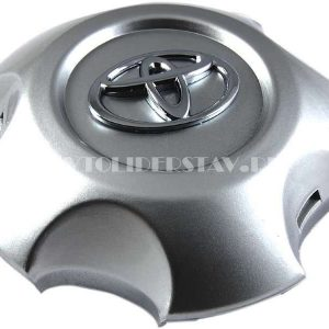 Колпачок для диска Toyota (144) 5 лучей Land Cruiser 200 TY-C558 серебро/хром