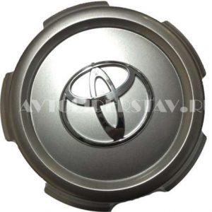 Колпачок для диска Toyota (148) 5 лучей TY-031 серебро/хром