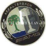 Колпачок для диска AMG Mercedes (75/70/16) с эмблемой черный/хром