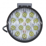Доп. светодиодная фара 42W дальний свет (кругл. фара) 3W*14 LED
