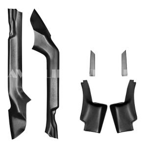 Накладки на ковролин (6 шт.) Renault Logan 2014 (ПТ групп) арт. 07030404