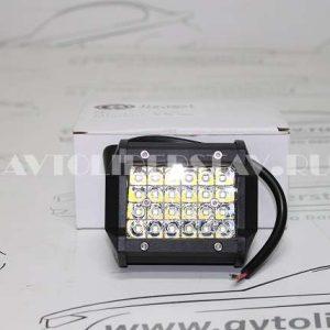 Дополнительная светодиодная фара С1-72 3W*24 LED (10*7,5 см)