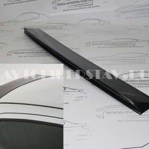 Козырек заднего стекла Vesta X-mugen в цвет кузова