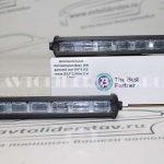 Дополнительная светодиодная фара 18W дальний свет 3W*6 LED линза (18,5*2,5) (из 2-х)