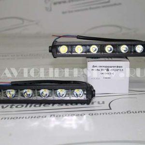Доп. светодиодная фара XK-18w 3W*6 LED (18*2,5 см) (из 2-х)