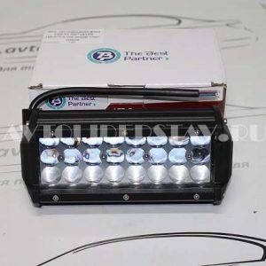 Доп. светодиодная фара С5D-72 3W*24 LED (16,5*7,5 cм) линзы +мат. стекло