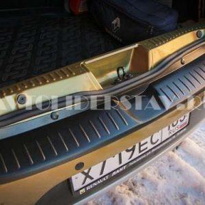 """Накл. на бампер АБС """"Renault Sandero-2"""" (с 2014г) шагрень"""