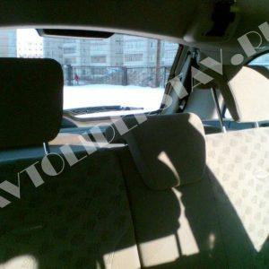 Подголовники заднего сидения Лада Калина 3шт