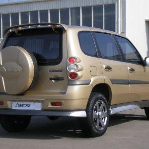 "Бампер Chevrolet Niva задний ""ATAКА"""