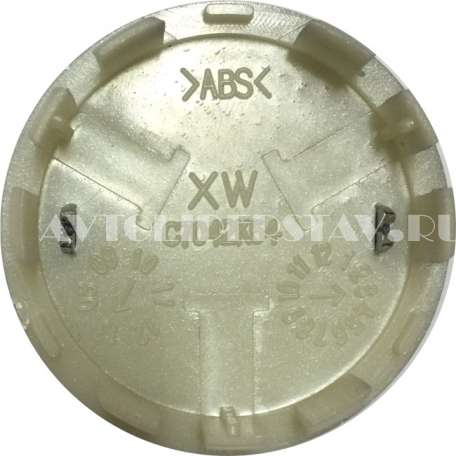 Колпачок для дисков Nissan (54/49/11) C7042K54 серебро-хром