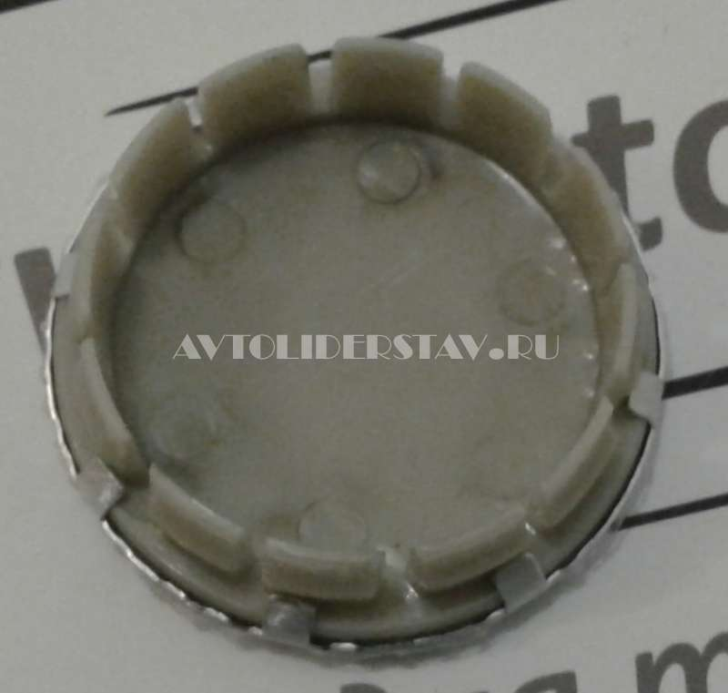 Колпачок на диск Jeep (55/48/13) метал. хром/черн