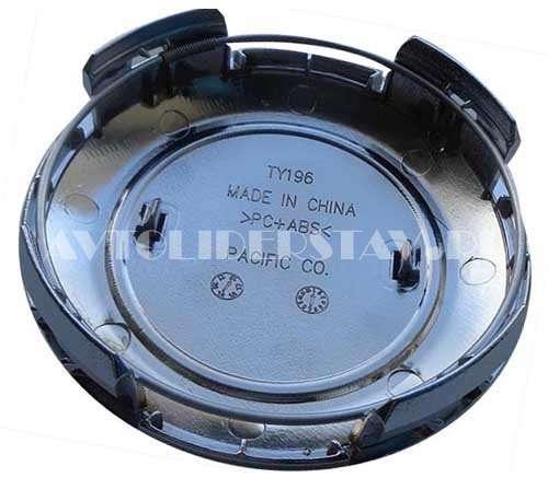 Колпачок для диска Toyota LC 200 93/89/17 (TY-196) черный-хром